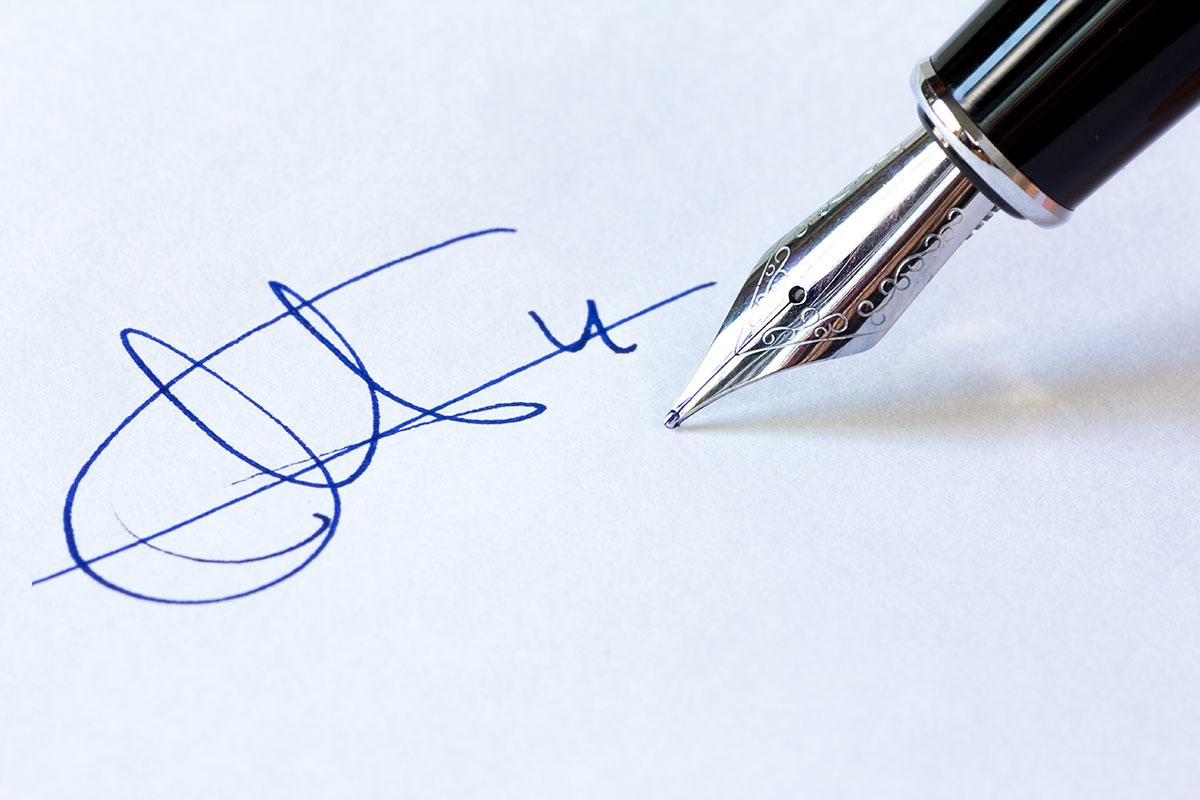 экспертиза подлинности подписи